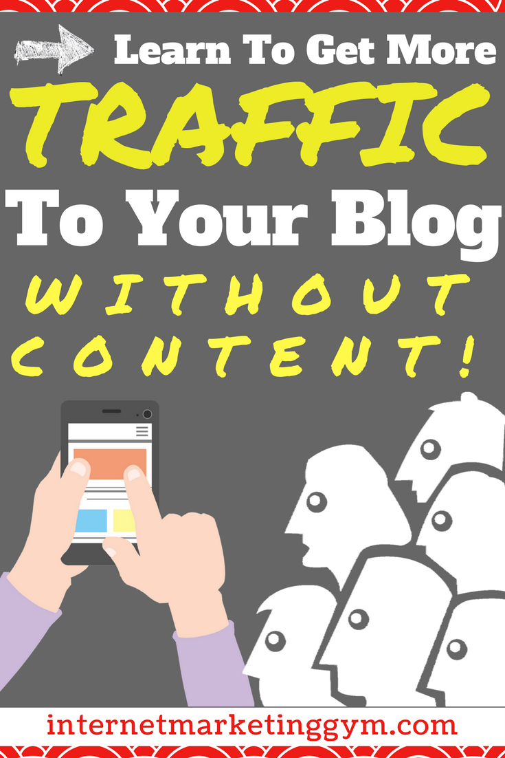 get people to your blog
