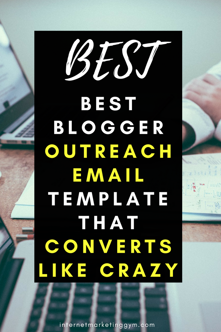Blogger Outreach Email Template