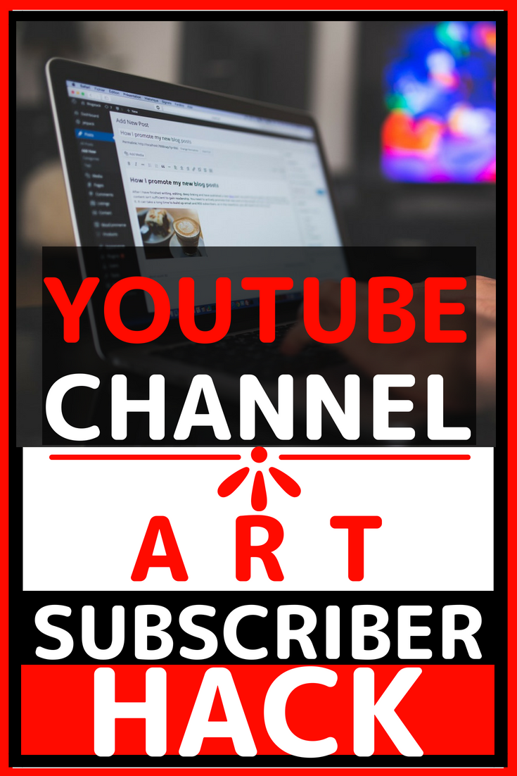 YouTube Channel Art Template 2018