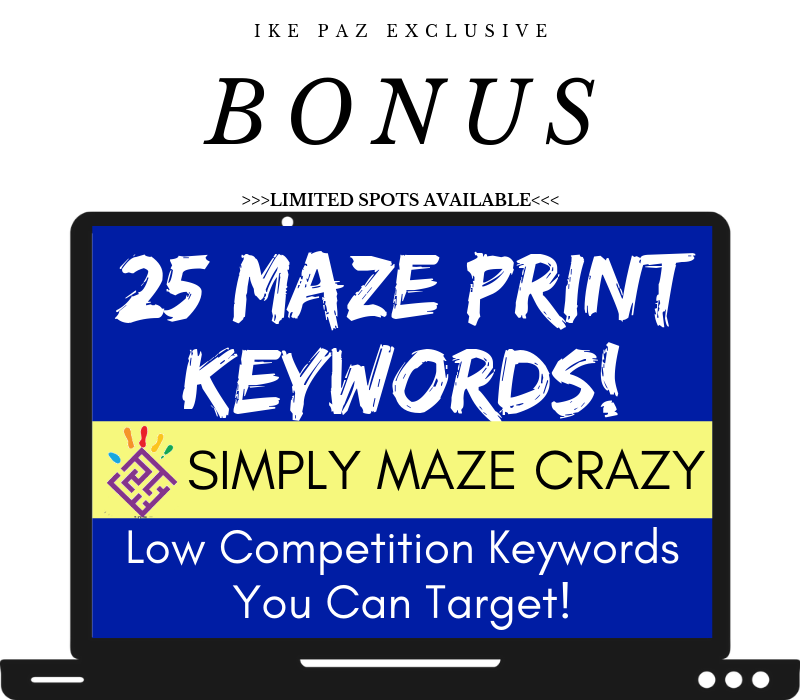 Simply Maze Crazy bonuses