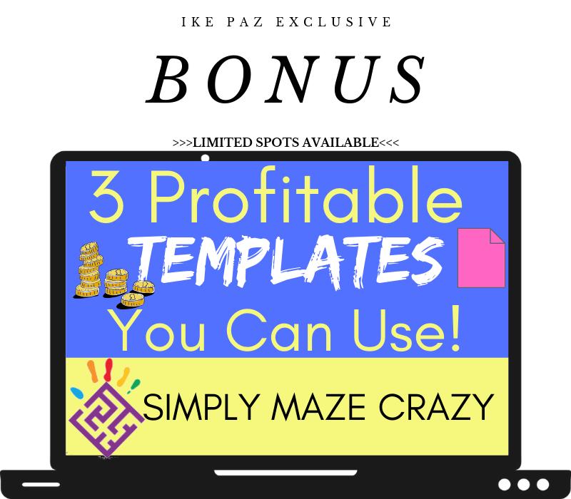 Simply Maze Crazy bonus